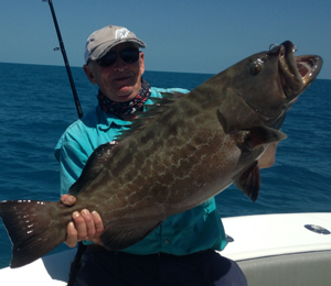 Grouper Fishing Charters in May